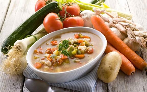 Суп з овочами