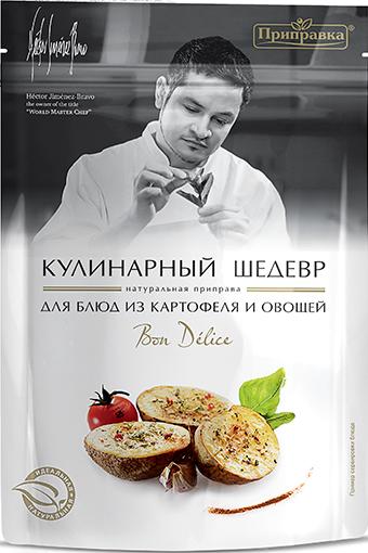 Натуральна приправа для картоплі та овочів «Bondelice» 30г