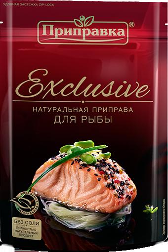 Натуральна приправа для риби без солі 45г