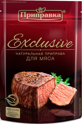 Натуральна приправа для м'яса без солі 50г