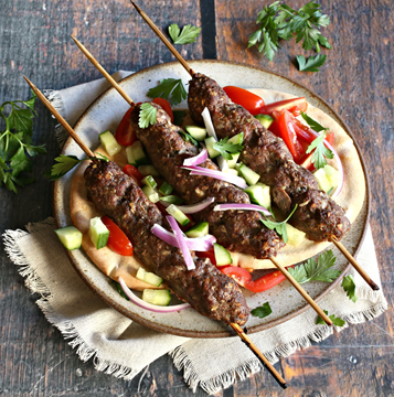 Traditional Lula-Kebab