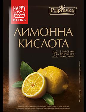 Лимонная кислота природного происхождения