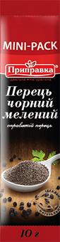 Перець чорний мелений (стік) 10г