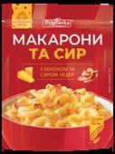 """""""Макарони та сир"""" з беконом та сиром Чедер"""