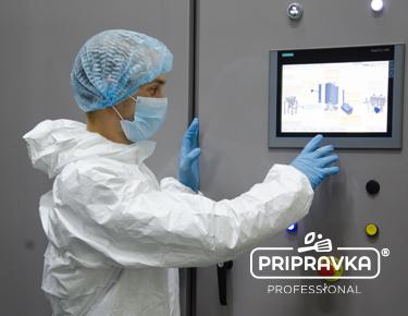 ТМ Pripravka – первый в Украине производитель приправ и пряностей, который установил на своем производстве паровой стерилизатор